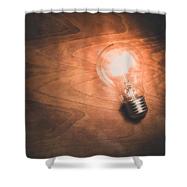 Electricity Concept Shower Curtain
