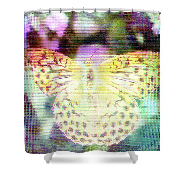 Electronic Wildlife  Shower Curtain