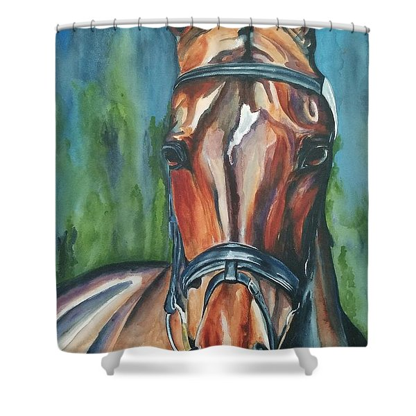 Elegance In Color Shower Curtain