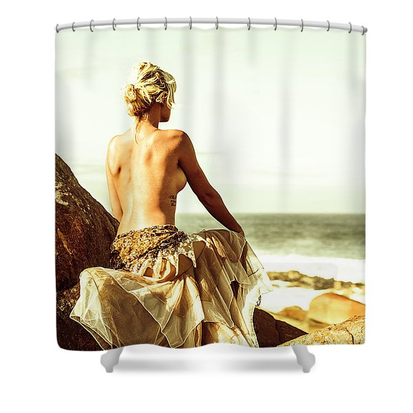 Elegant Classical Beauty  Shower Curtain