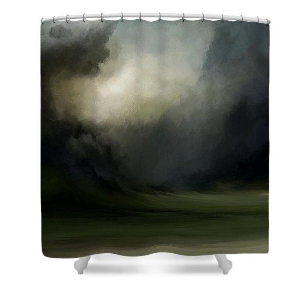 Elements Of Illumination Shower Curtain