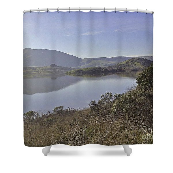Elephant Hill In Mist Shower Curtain