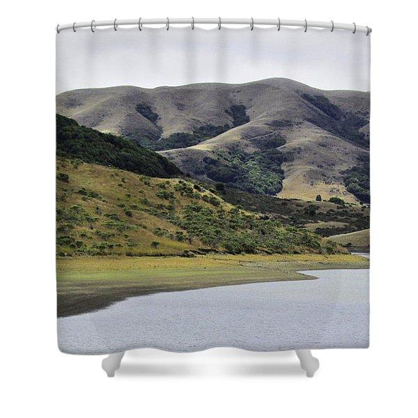 Elephant Hill Shower Curtain