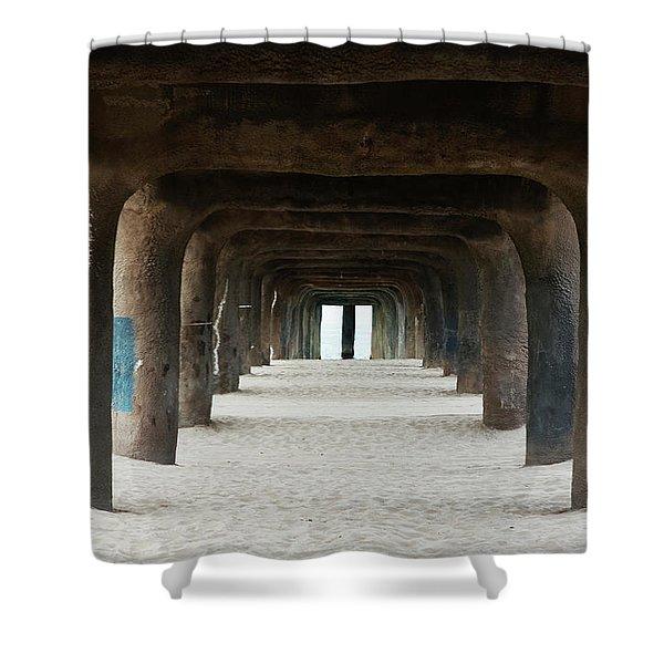 Elephant Legs Shower Curtain