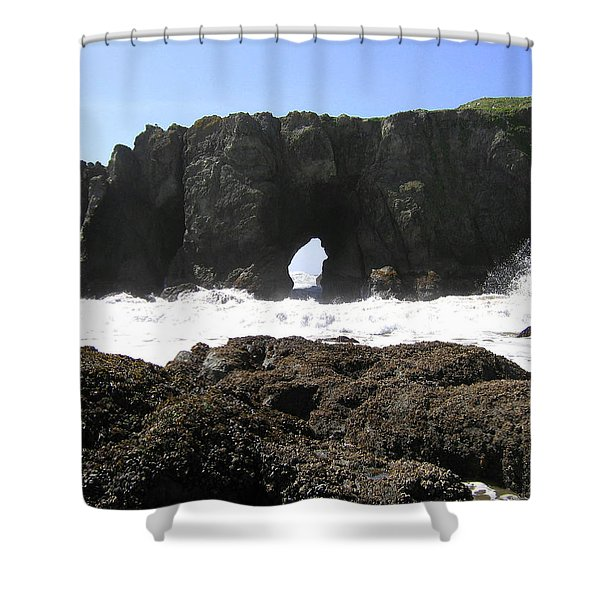 Elephant Rock 2 Shower Curtain
