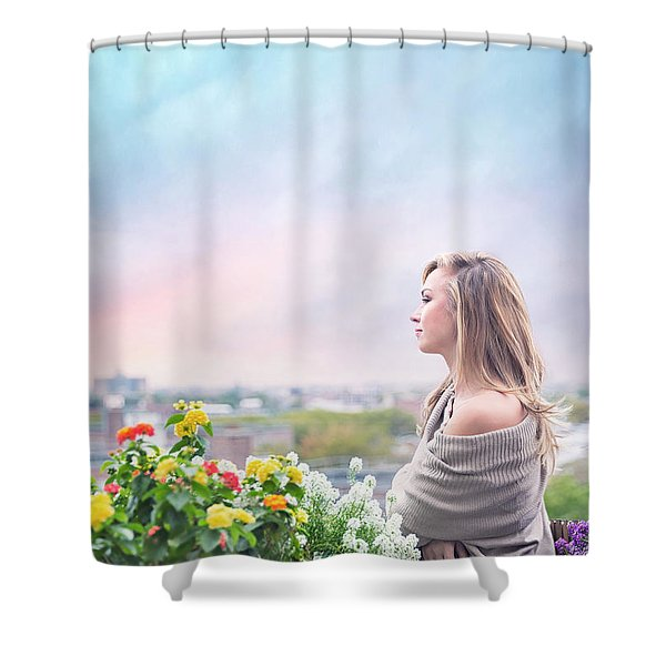 Elevate Your Senses Shower Curtain