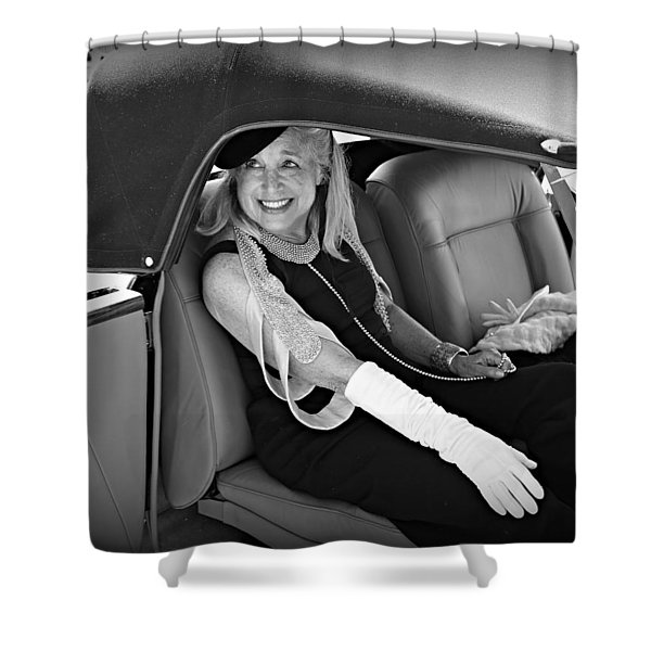 Elegance At The Concours Shower Curtain