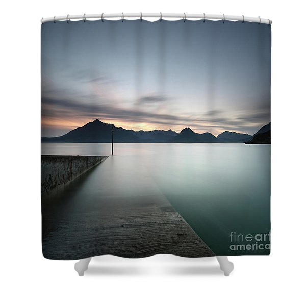 Elgol At Sunset Shower Curtain