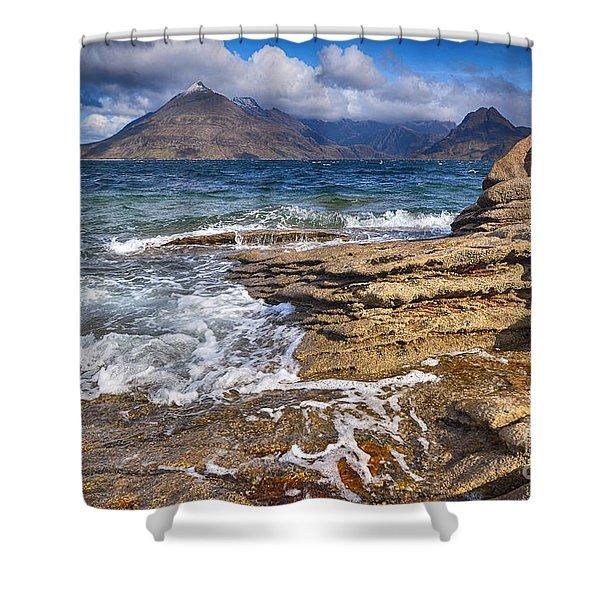 Elgol, Isle Of Skye Shower Curtain