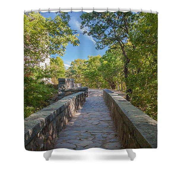 Eliot Memorial Bridge Shower Curtain