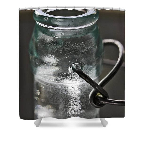 Elixir Bottle Shower Curtain