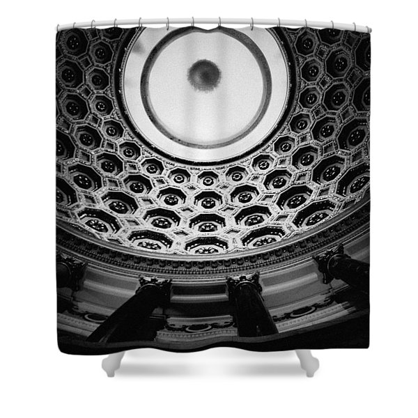 Elks National Veterans Memorial Rotunda Shower Curtain