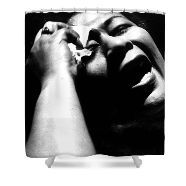 Ella Fitzgerald Shower Curtain