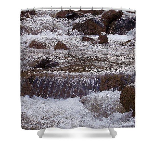 Ellenville Waterfall Shower Curtain