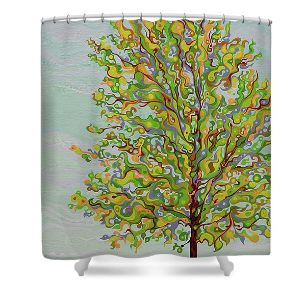 Ellie's Tree Shower Curtain