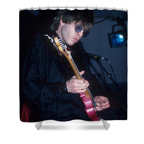 Elliot Easton Shower Curtain
