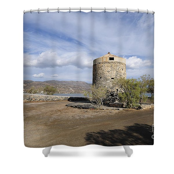 Elounda Shower Curtain