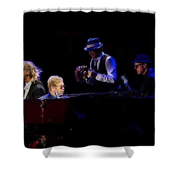 Elton - Gather Round Shower Curtain