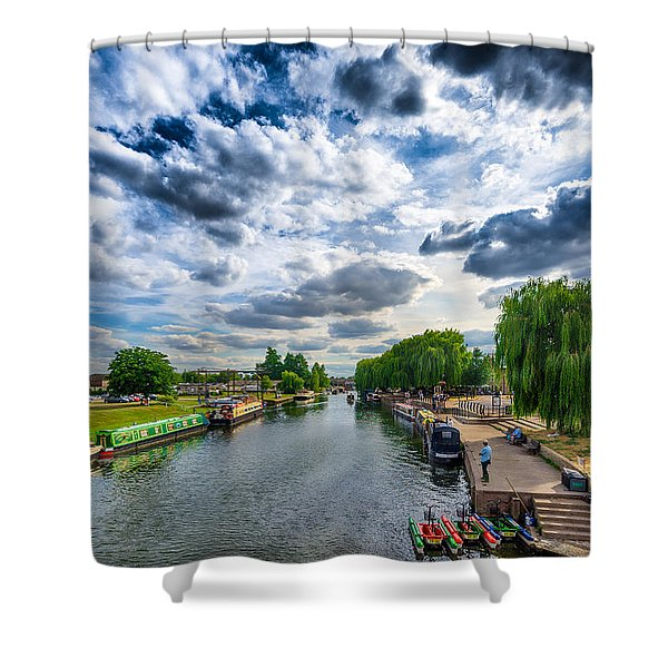 Ely Riverside Shower Curtain