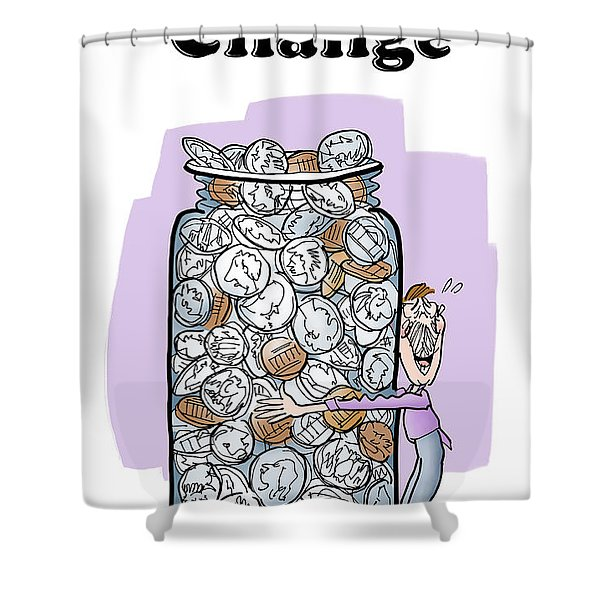Embrace Change Shower Curtain