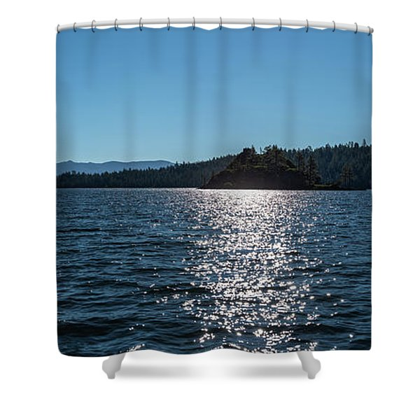 Emerald Bay - Panorama Shower Curtain