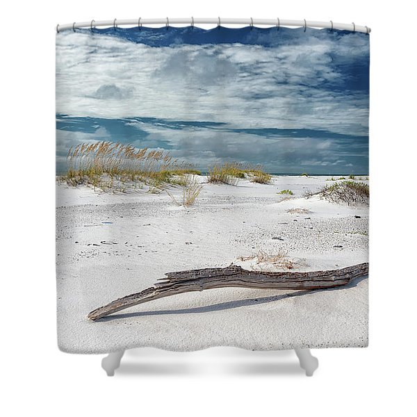 Emerald Coast Beauty Shower Curtain