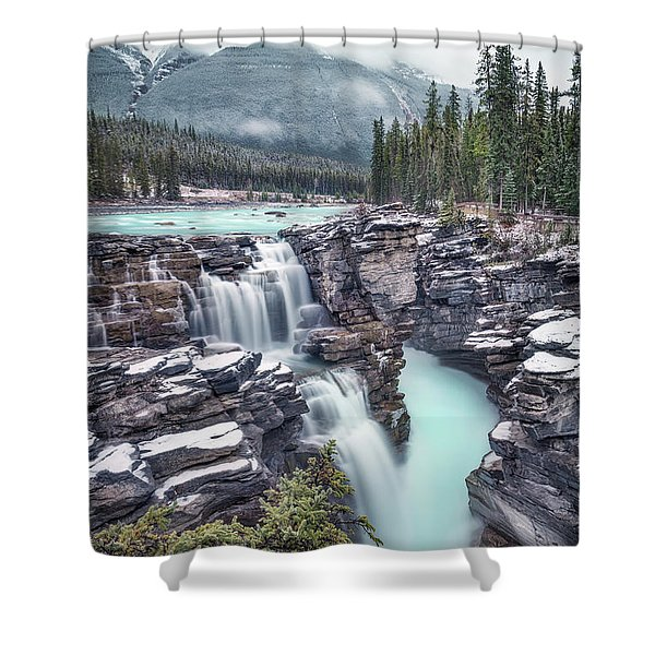 Emerald Rush Shower Curtain
