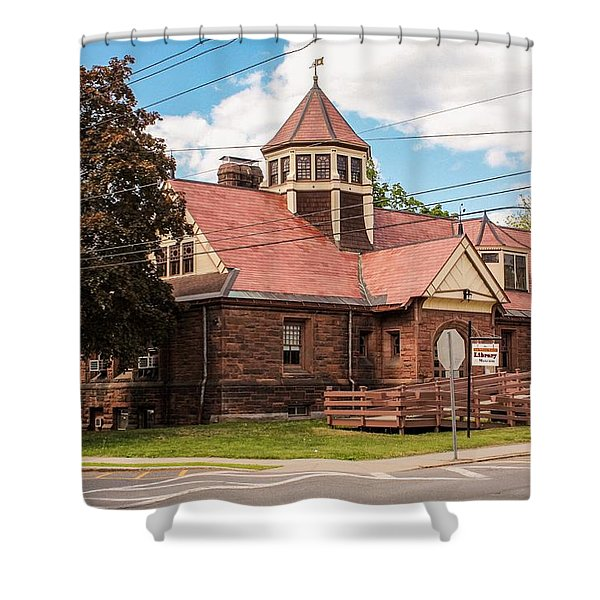 Emily Williston Memorial Library And Museum Shower Curtain