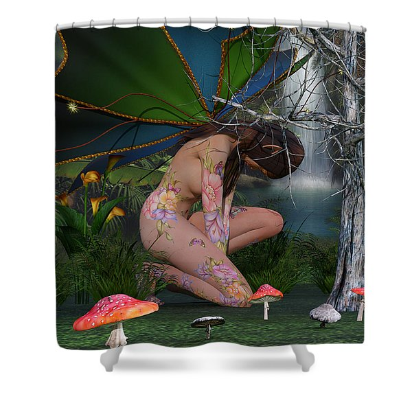 Eminence Of Your Domain Shower Curtain