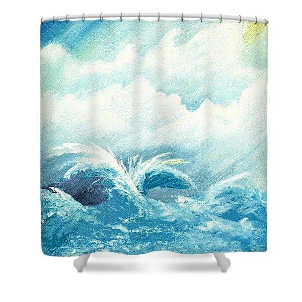Emotion Shower Curtain