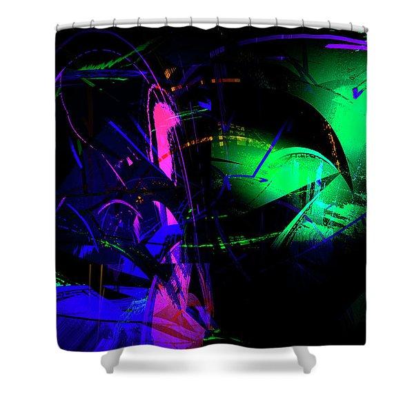 Shower Curtain featuring the digital art Emotions by Gerlinde Keating - Galleria GK Keating Associates Inc