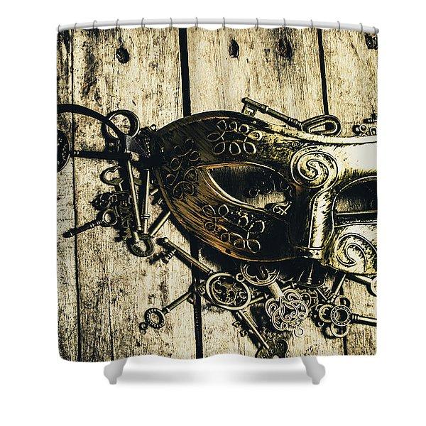 Emperors Keys Shower Curtain