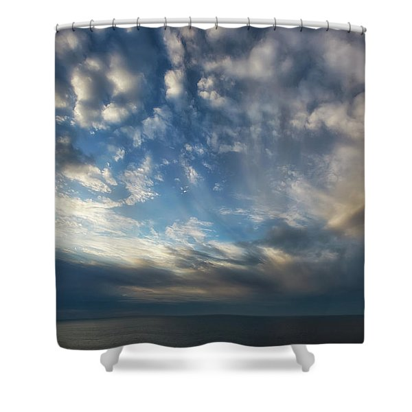 Shower Curtain featuring the photograph Empire Bluffs 1 by Heather Kenward