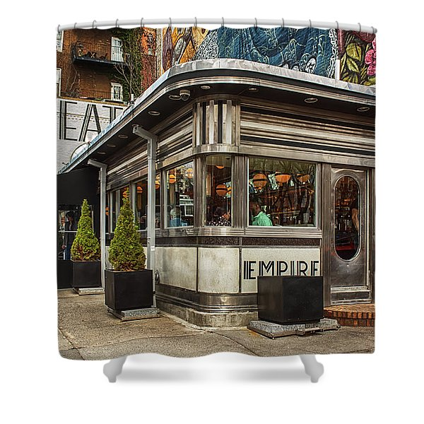 Empire Diner Shower Curtain