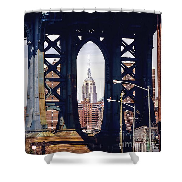 Empire Framed Shower Curtain