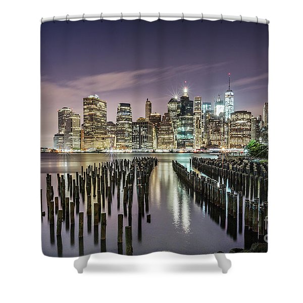 Empire Of Lights Shower Curtain
