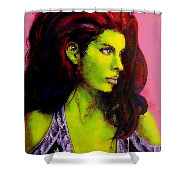 Empress At Rest Shower Curtain