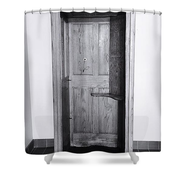 Empty Calling Shower Curtain