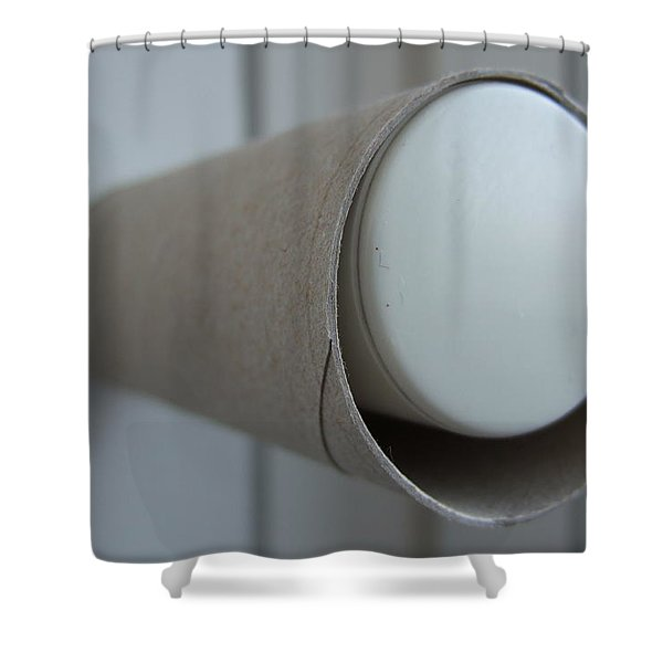 Empty Toilet Paper Roll Shower Curtain