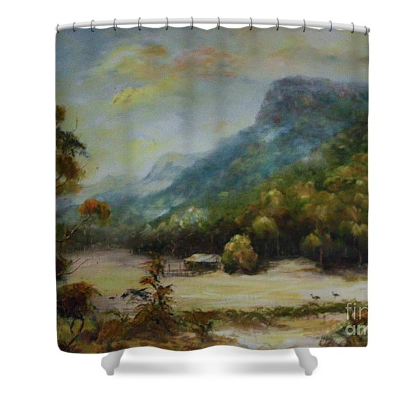 Emu Plains, Grampians Shower Curtain