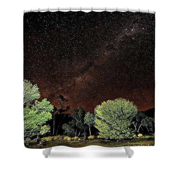 Emu Rising Shower Curtain