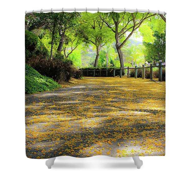 Enchanted Path Shower Curtain