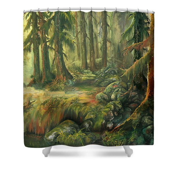 Enchanted Rain Forest Shower Curtain