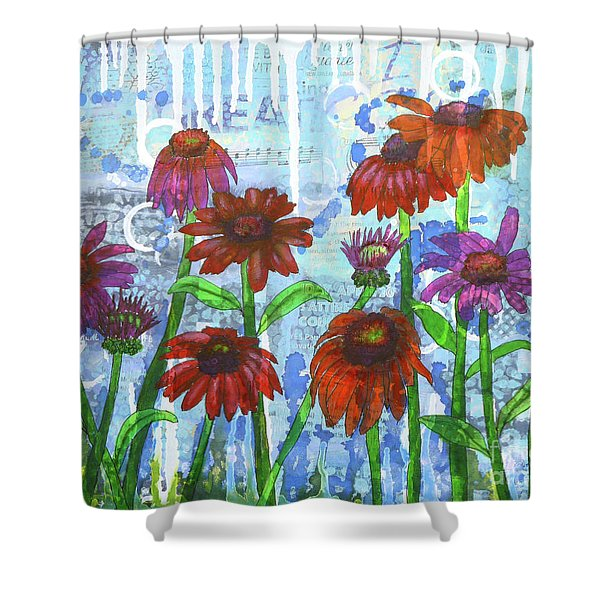 Enchanting Echinacea Shower Curtain