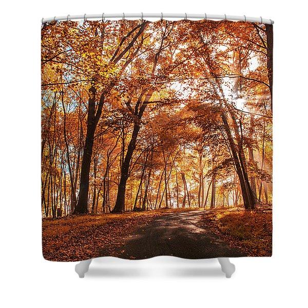 Enchanting Fall Shower Curtain