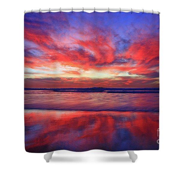 Encinitas Energy Canvas 24x36 Inch Print On Sale Shower Curtain