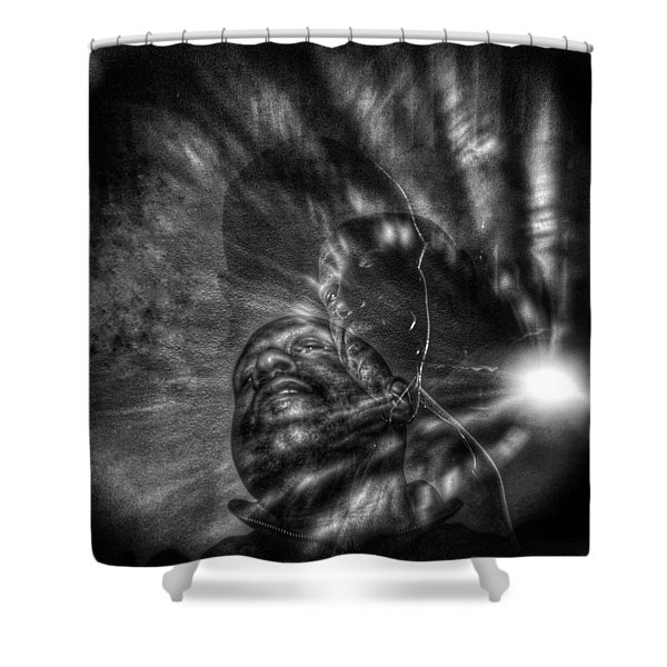 Encounters With Lord Harden Number Two Shower Curtain