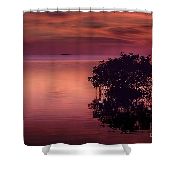 End Of Another Day Shower Curtain