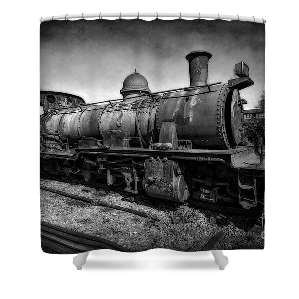 End Of The Line V2 Shower Curtain