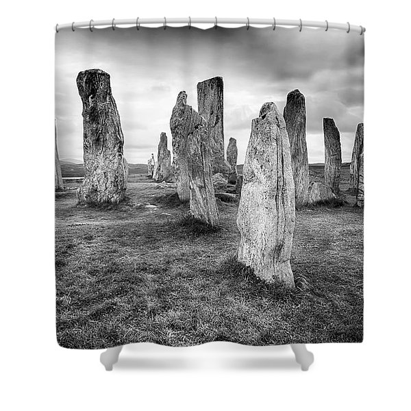 End Of The World Shower Curtain